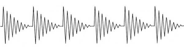 Dr. Rife's Damped Waveform