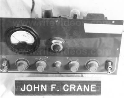 John Crane's Audio Frequency Instrument